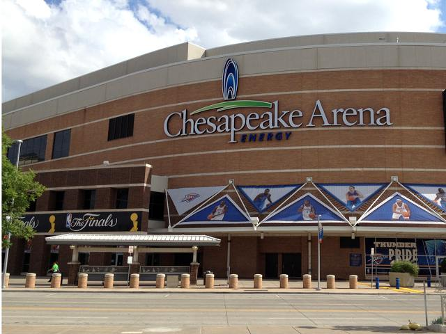 Chesapeake Energy Arena: Home of the Oklahoma City Thunder