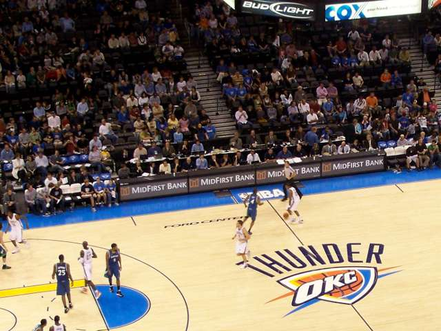 Oklahoma City Thunder Suites
